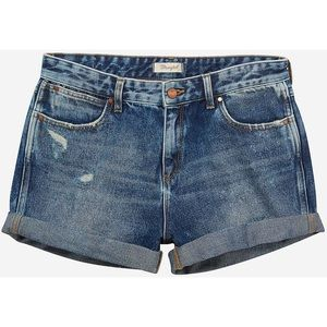 WRANGLER Anniversary Boyfriend Denim Shorts Blue L